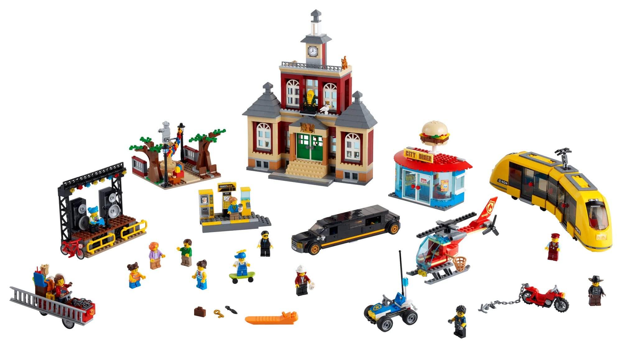 LEGO City 60271 Stadtplatz (22)