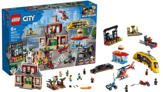 LEGO City 60271 Stadtplatz