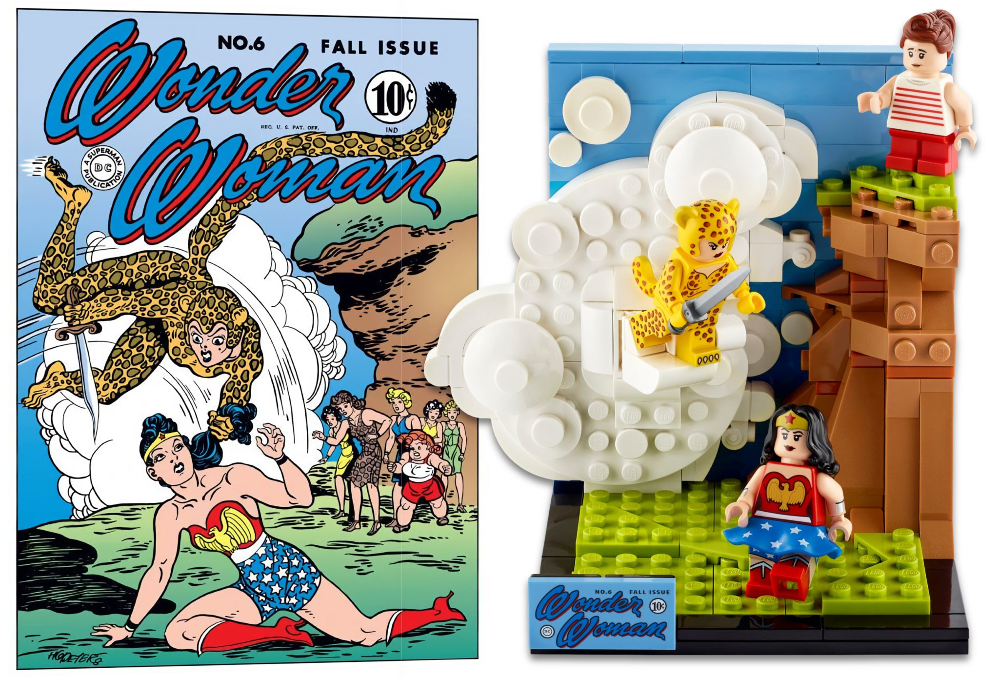 LEGO Dc 77906 Wonder Woman No6