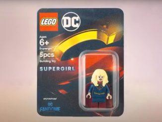 LEGO DC Fandome Supergirl Minifigur