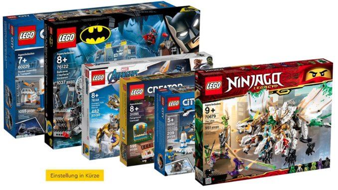 LEGO Einstellung In Kuerze Oktober 2020