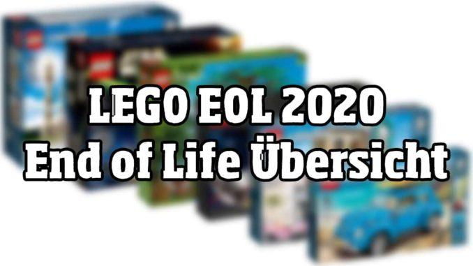 LEGO EOL 2020