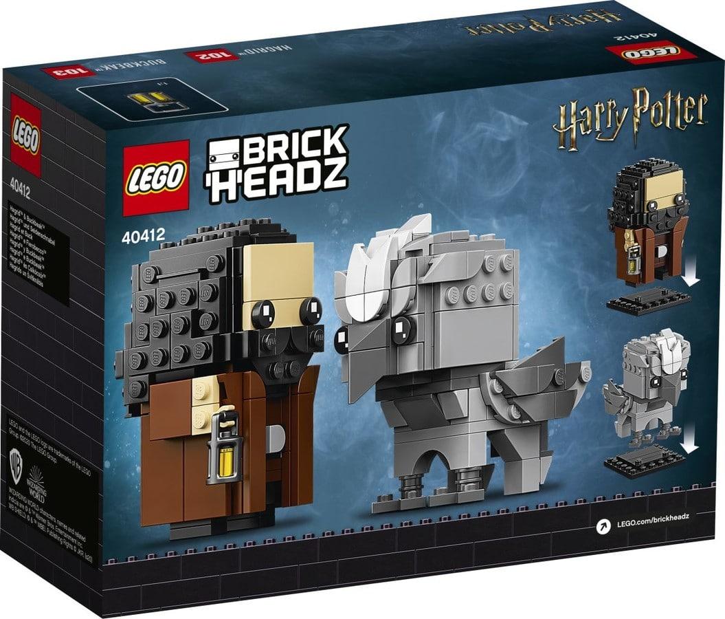 LEGO Harry Potter 40412 Hagrid Buckbeak Brickheadz 1