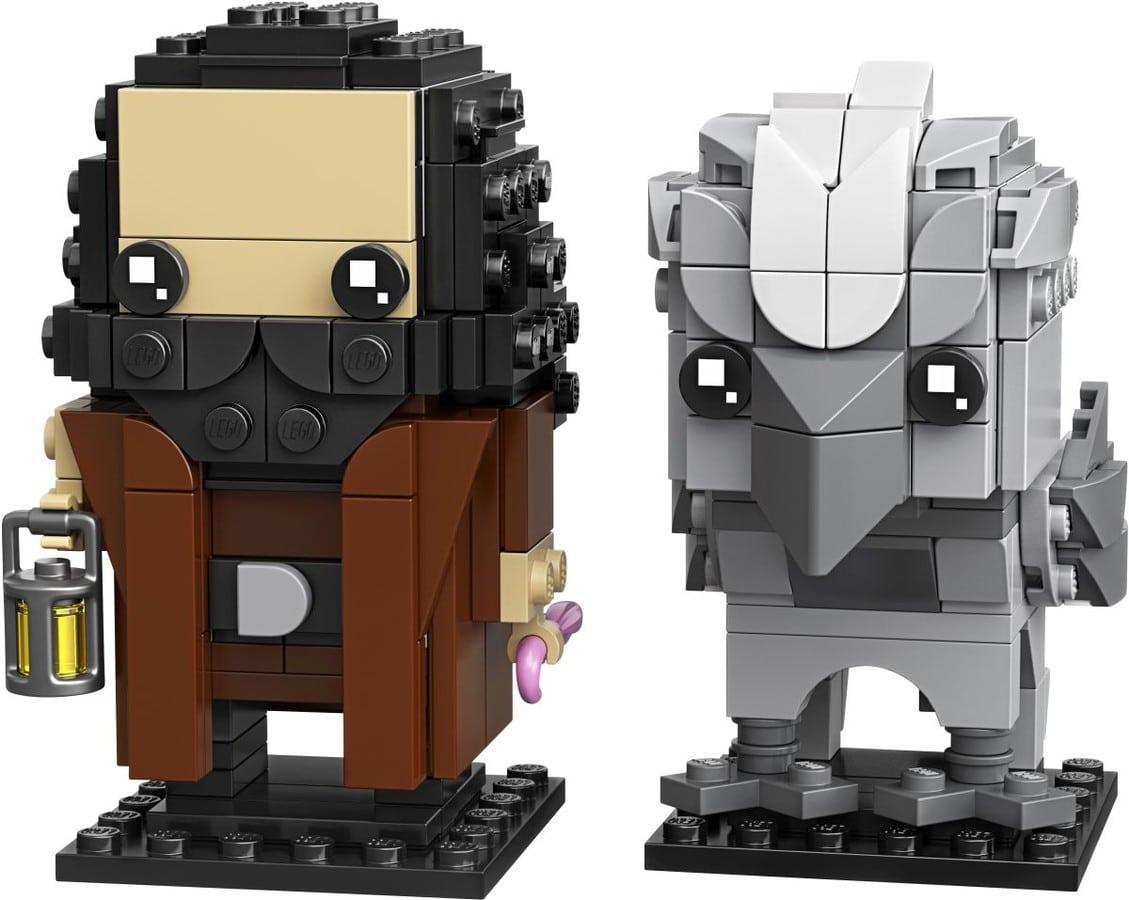 LEGO Harry Potter 40412 Hagrid Buckbeak Brickheadz 2