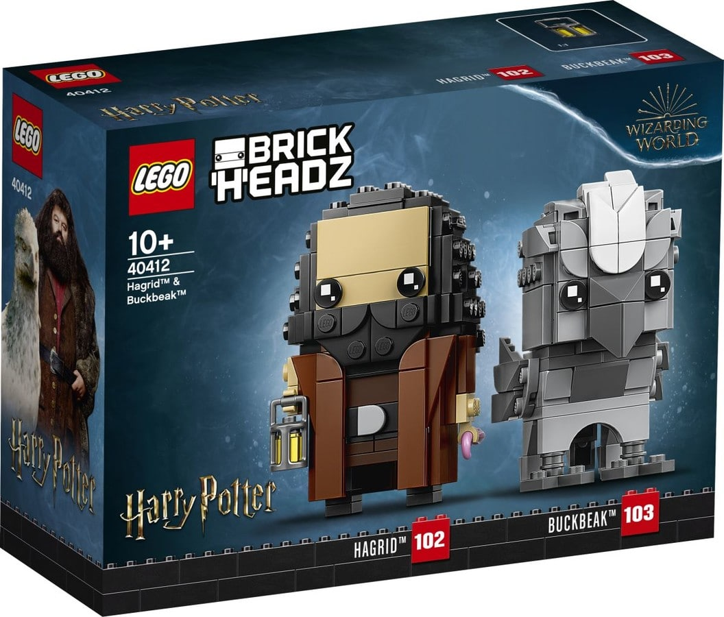 LEGO Harry Potter 40412 Hagrid Buckbeak Brickheadz 3