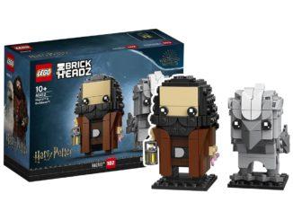LEGO Harry Potter 40412 Hagrid Buckbeak Brickheadz