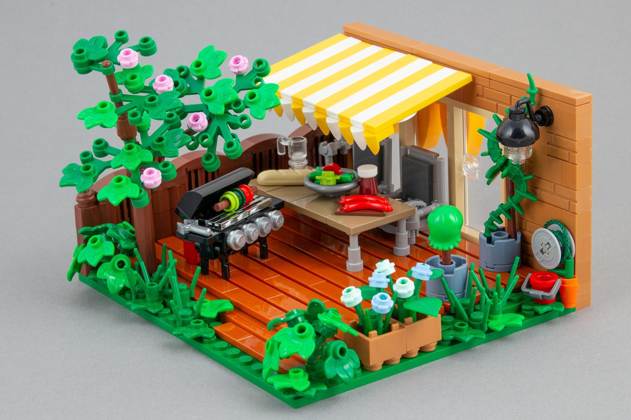 LEGO Moc Terrasse