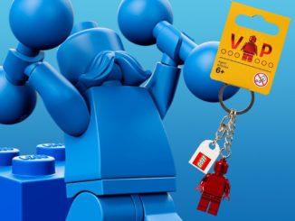 LEGO Retro Vip Schluesselanhaenger