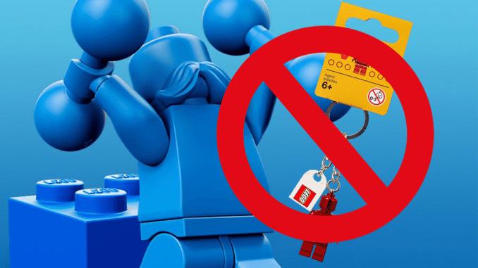 LEGO Retro VIP Schluesselanhaenger Fehler