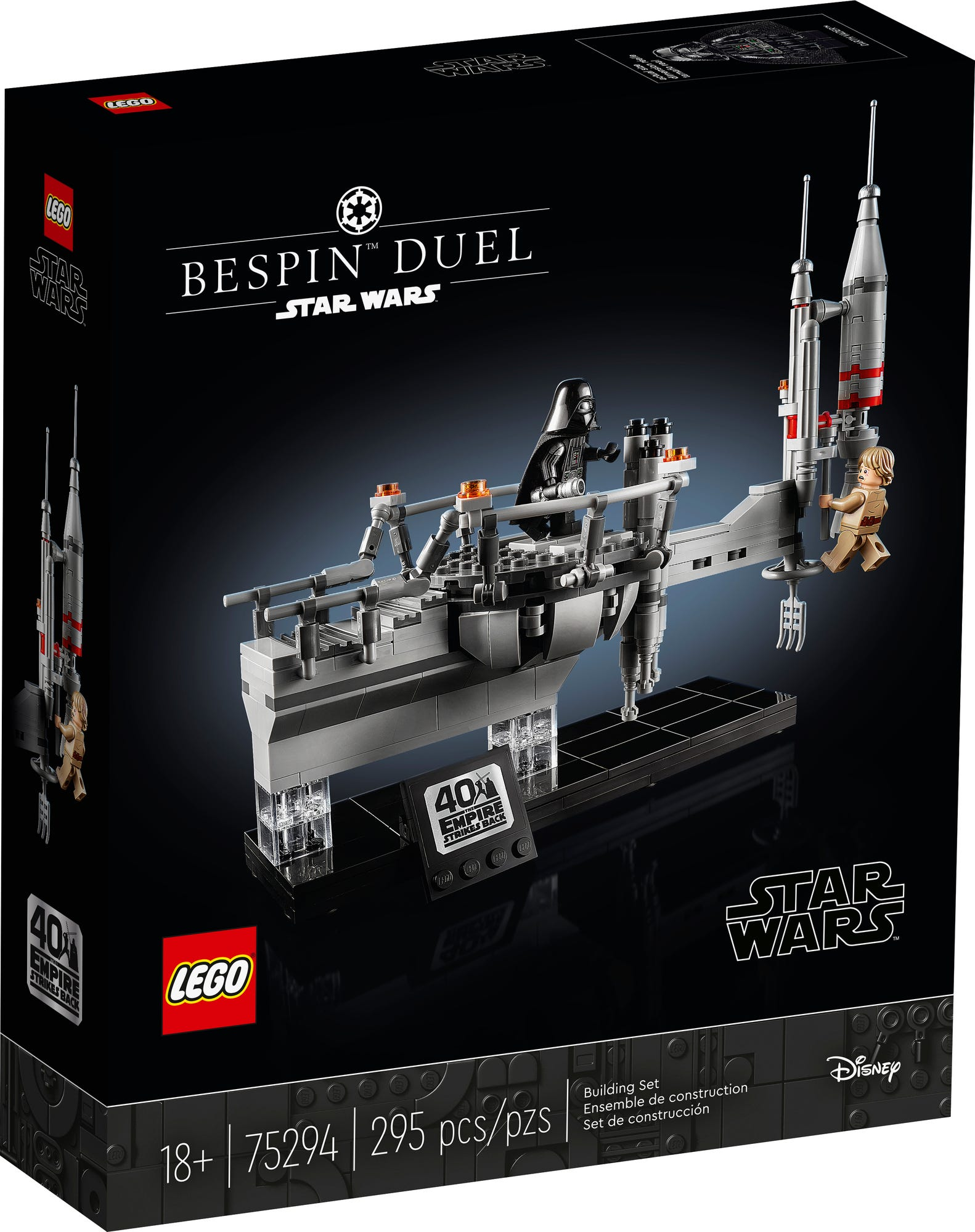 LEGO Star Wars 75294 Bespin Duel (Box Vorderseite)