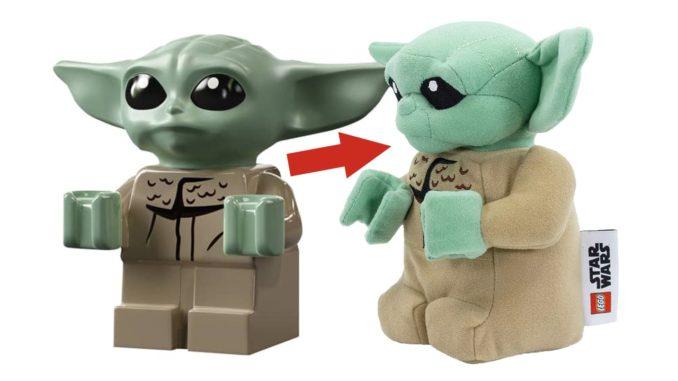 LEGO Star Wars Baby Yoda Plüschfigur