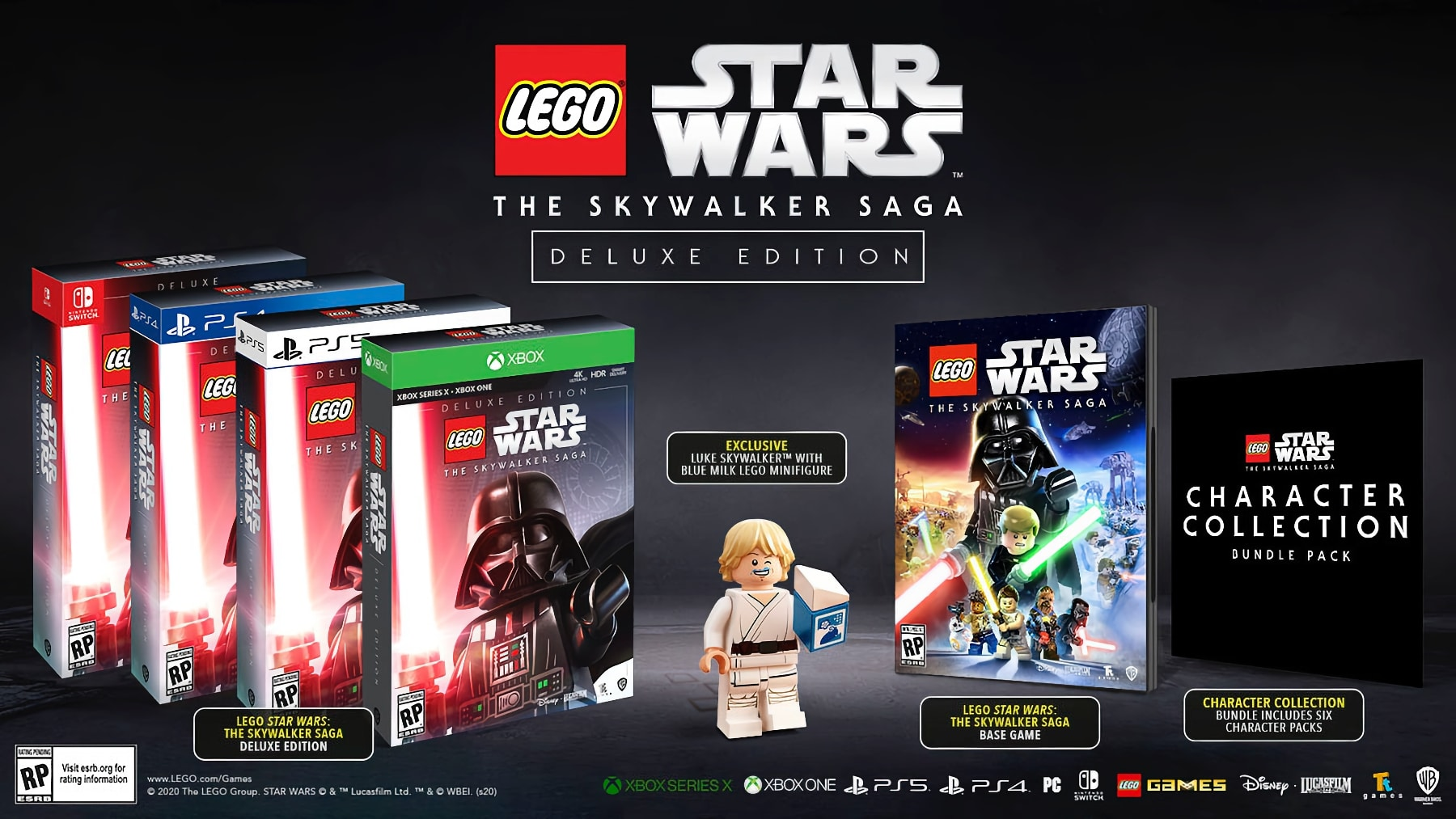 LEGO Star Wars Die Skywalker Saga Deluxe