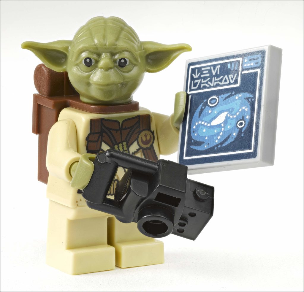 LEGO Star Wars Yoda Galaxy Atlas