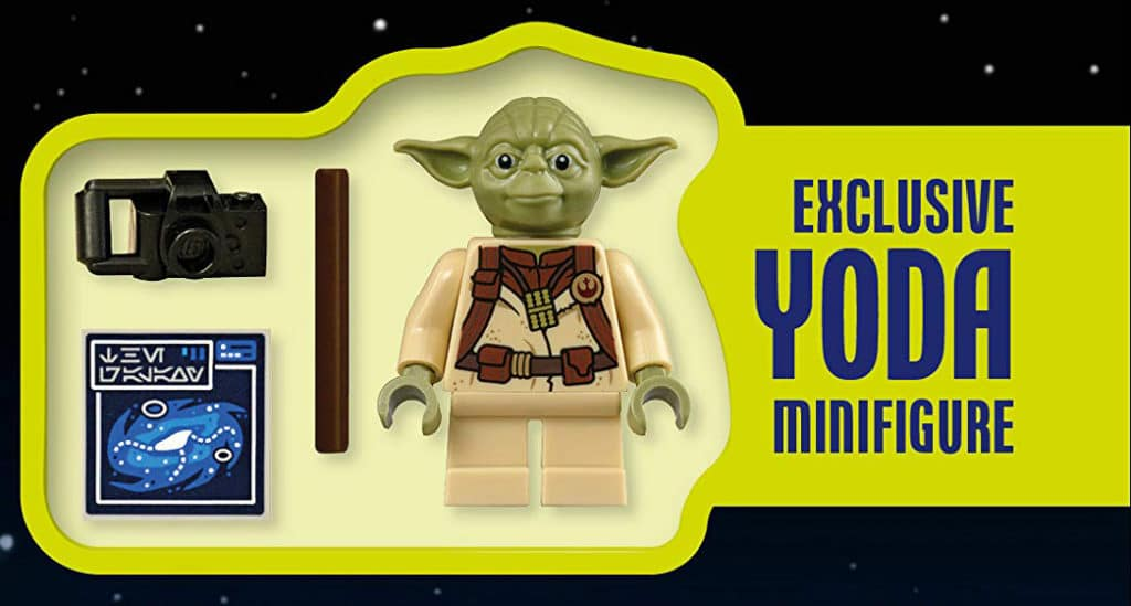 LEGO Star Wars Yoda Galaxy Atlas Exclusive