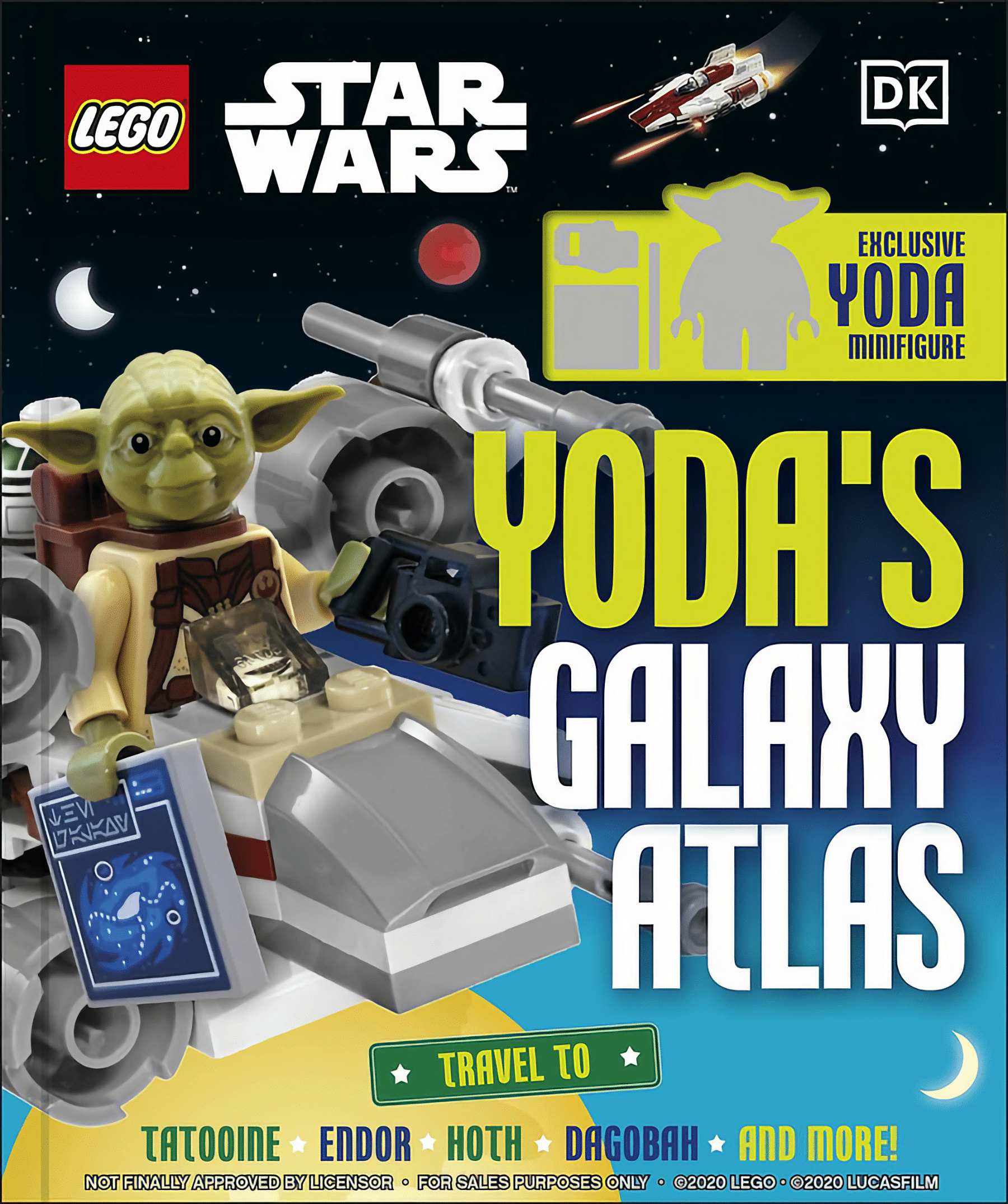 LEGO Star Wars Yodas Galaxy Atlas