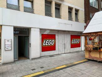 LEGO Store Duesseldorf Eroeffnet August