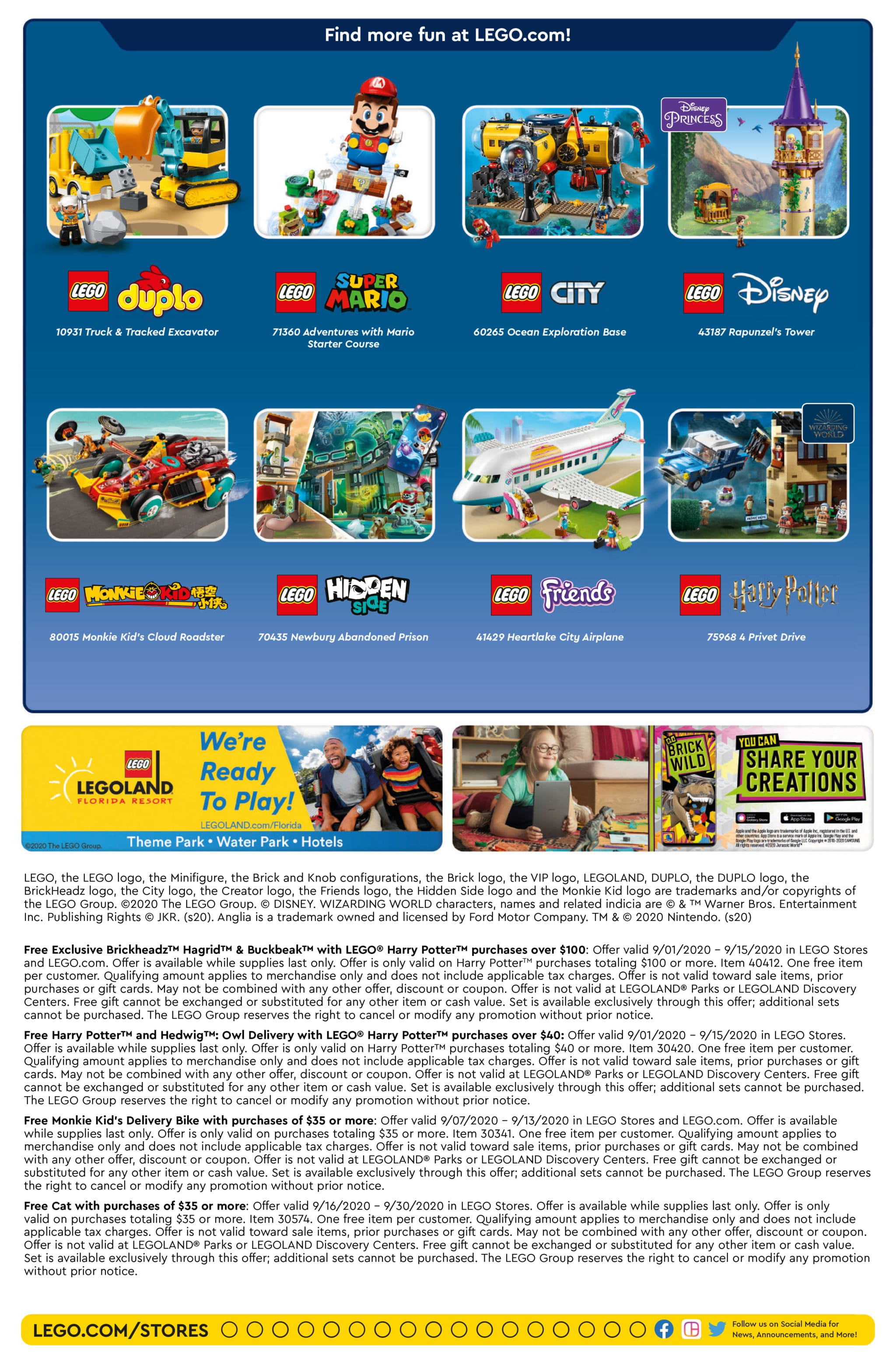 LEGO Store Flyer September 2020 USA Seite 2