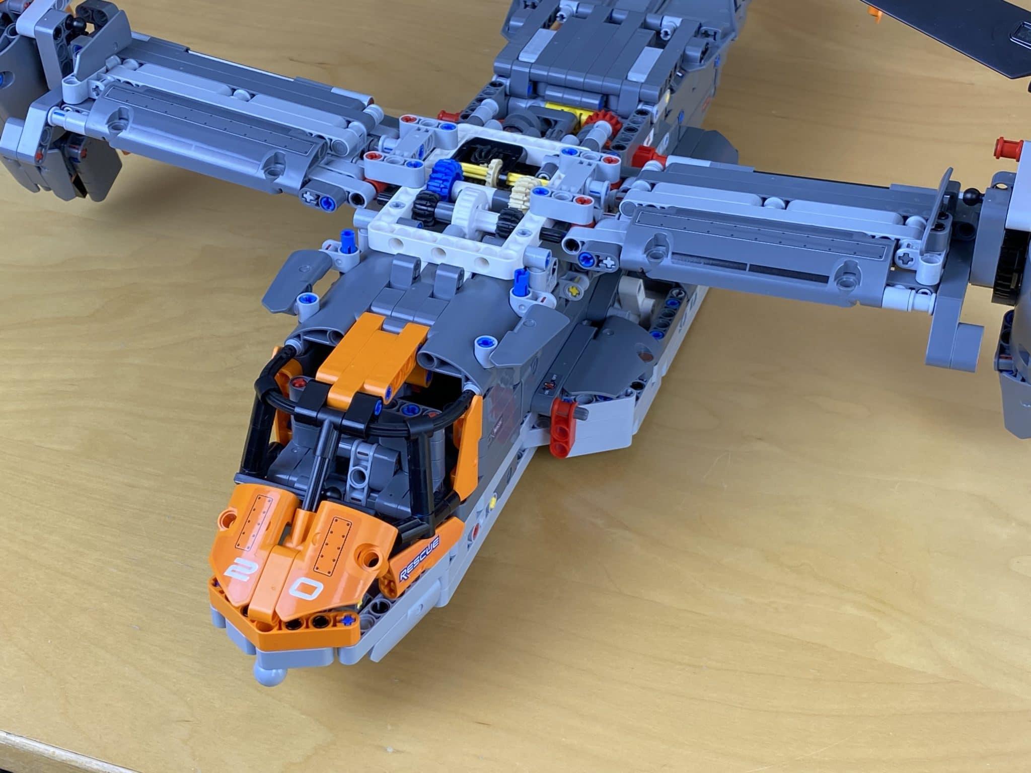 LEGO Technic Osprey Getriebe Fehler 1