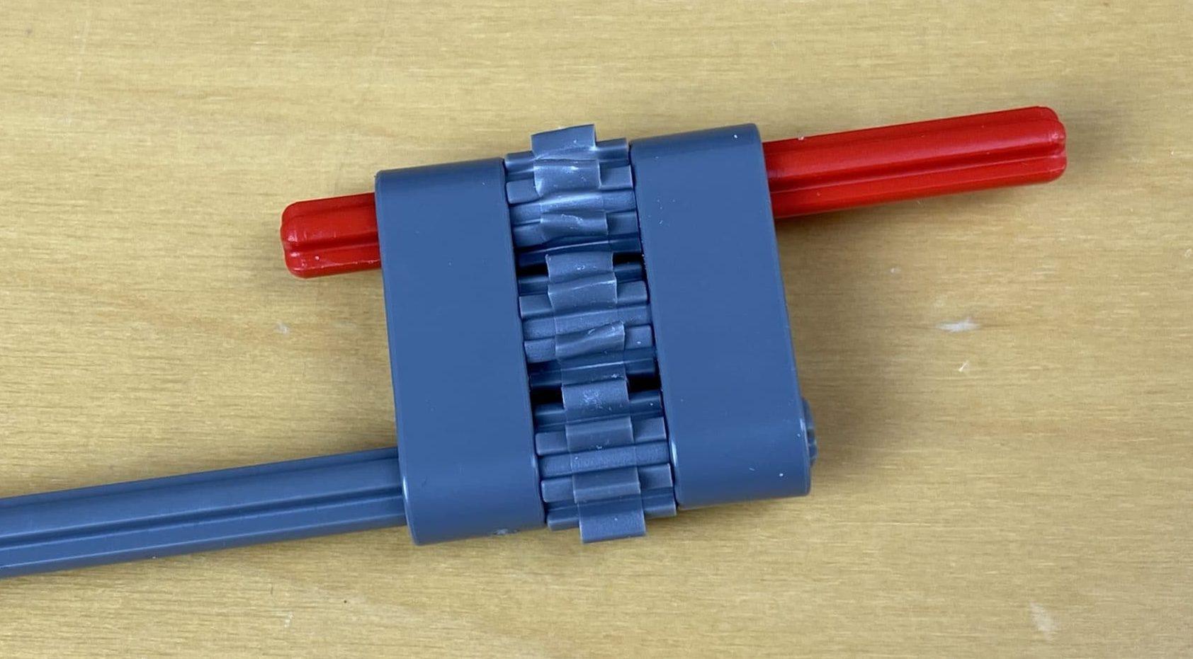 LEGO Technic Osprey Getriebe Fehler 2