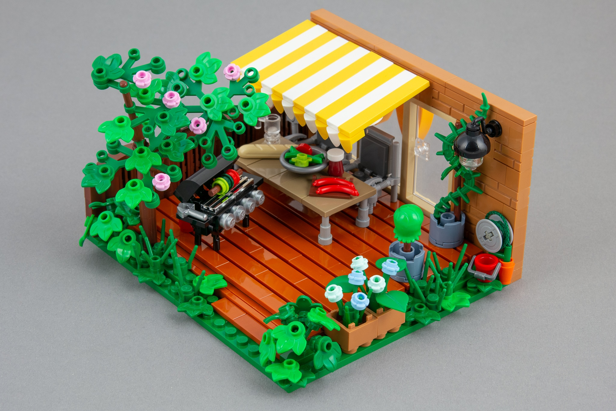 LEGO Terrasse Moc Grillen (12)