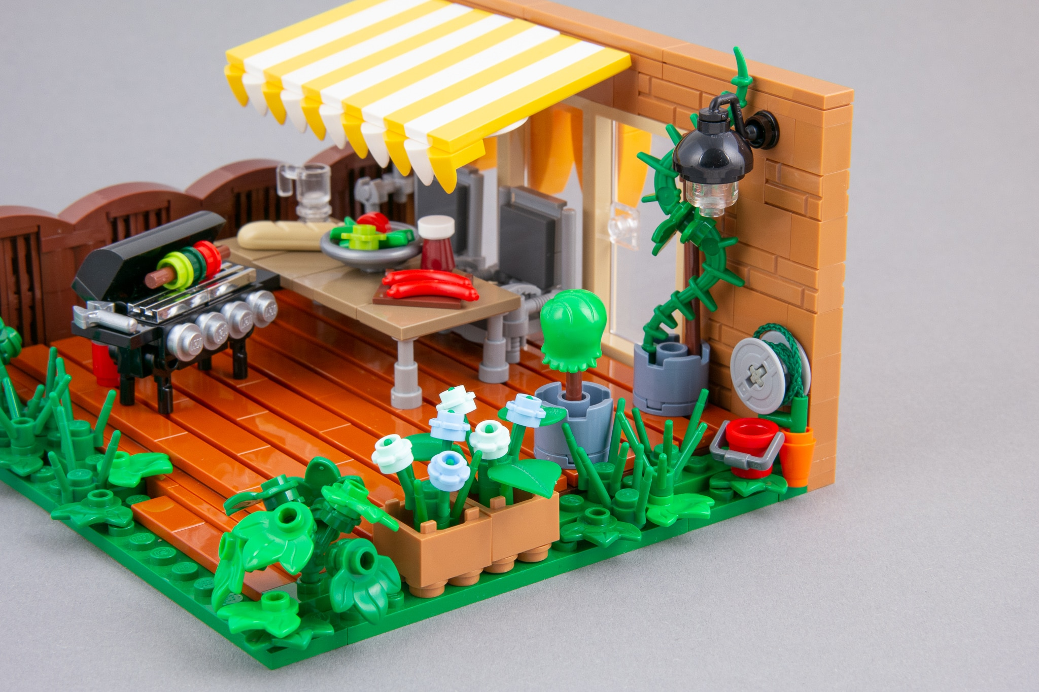 LEGO Terrasse Moc Grillen (14)