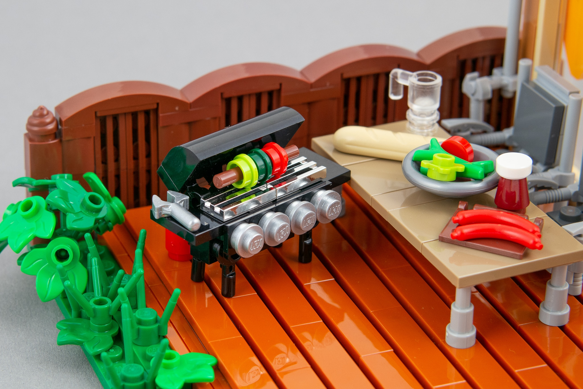 LEGO Terrasse Moc Grillen (17)
