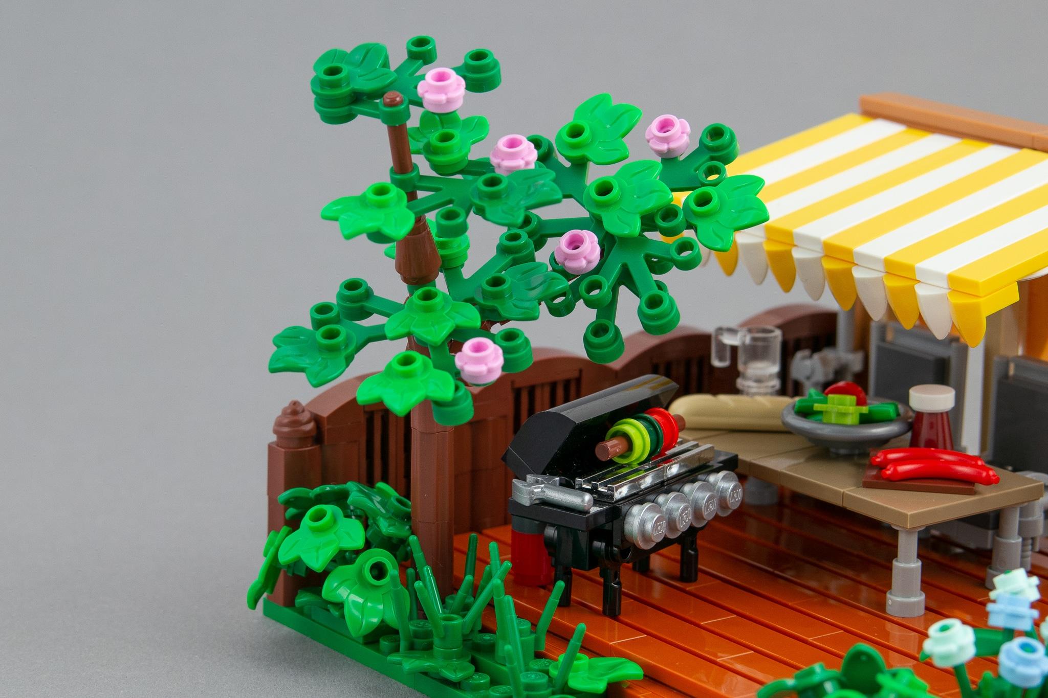 LEGO Terrasse Moc Grillen (7)