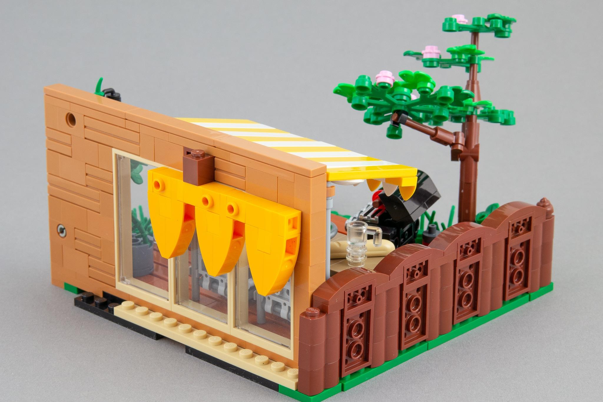 LEGO Terrasse Moc Grillen Rueckseite