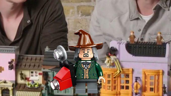 LEGO Winkelgasse Teaser Minifigur
