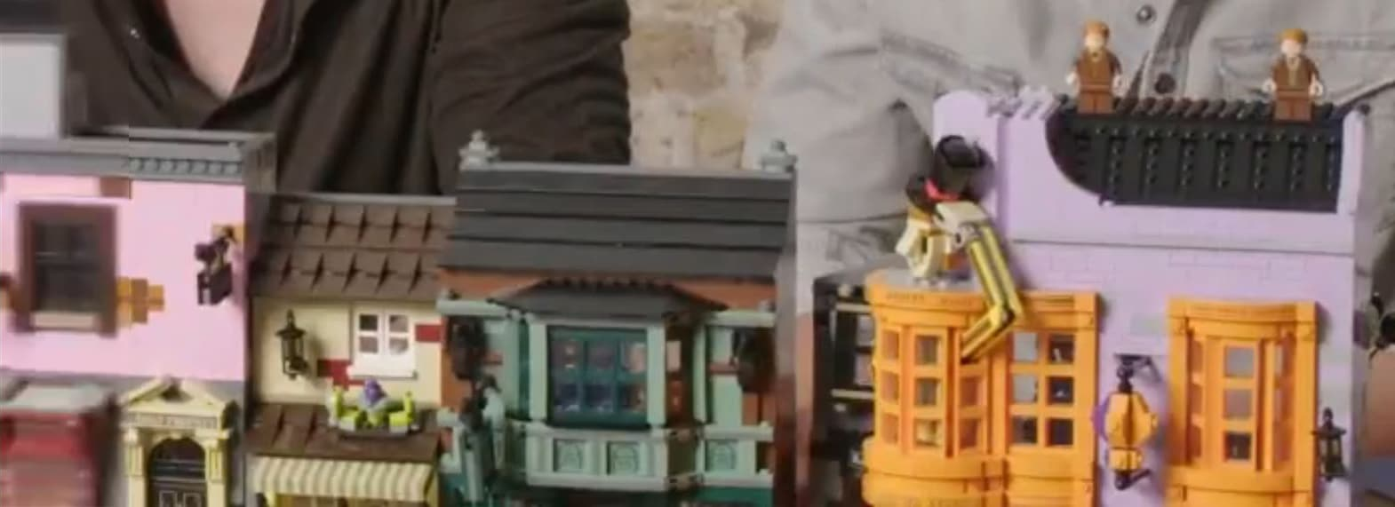 LEGO Winkelgasse Teaser