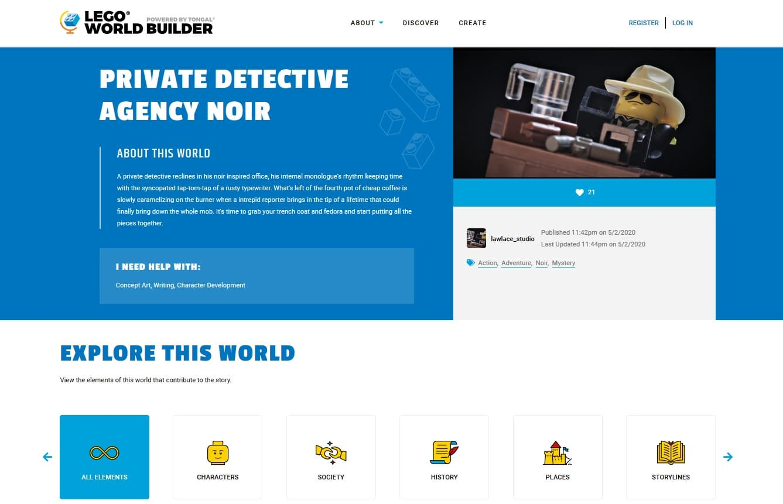LEGO World Builder Draft