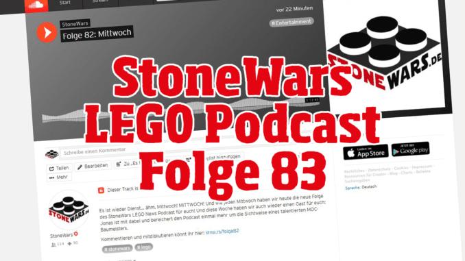Stonewars LEGO Podcast Folge 83
