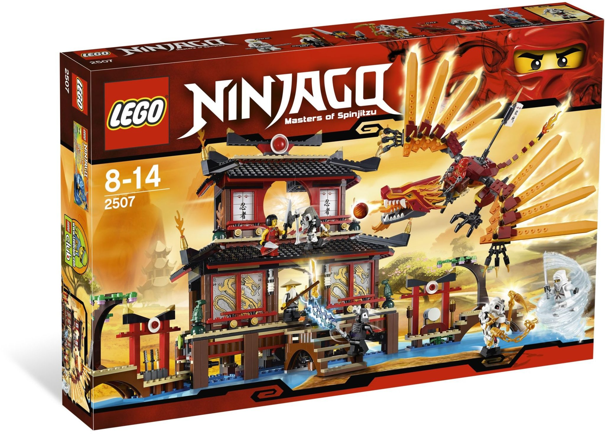2507 Ninjago Erstes Topset
