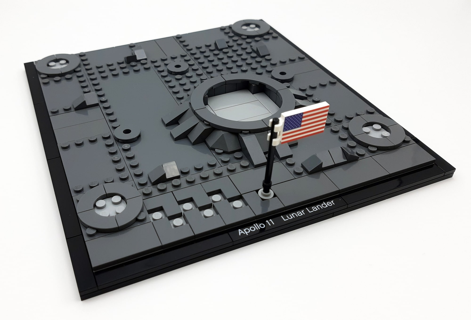 LEGO 10266 Nasa Apollo 11 Mondlandefähre - Bauabschnitt 1