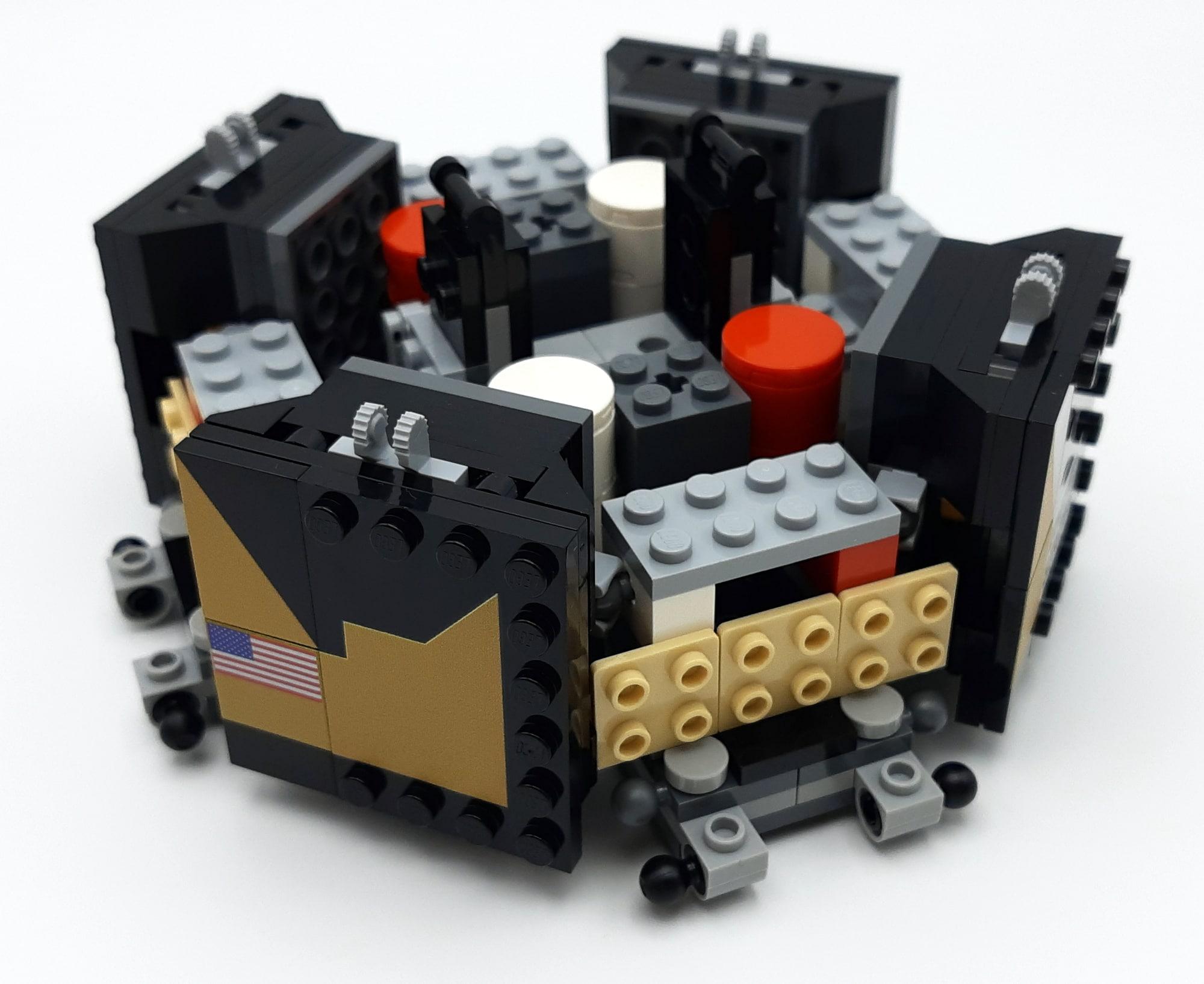 LEGO 10266 Nasa Apollo 11 Mondlandefähre - Bauabschnitt 2