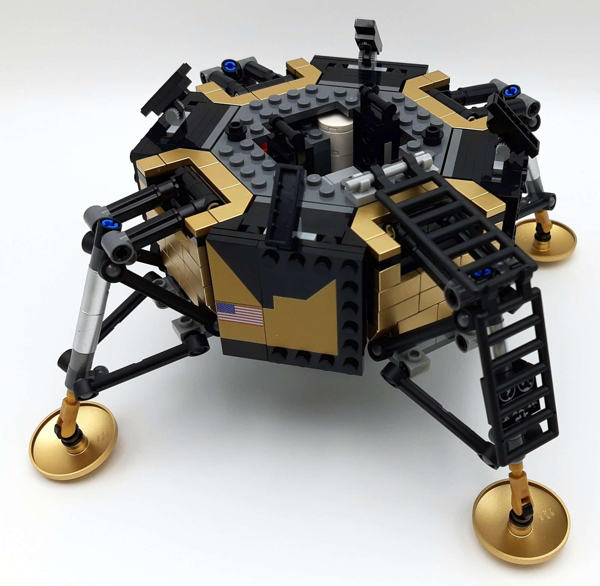 LEGO 10266 Nasa Apollo 11 Mondlandefähre - Bauabschnitt 3 2