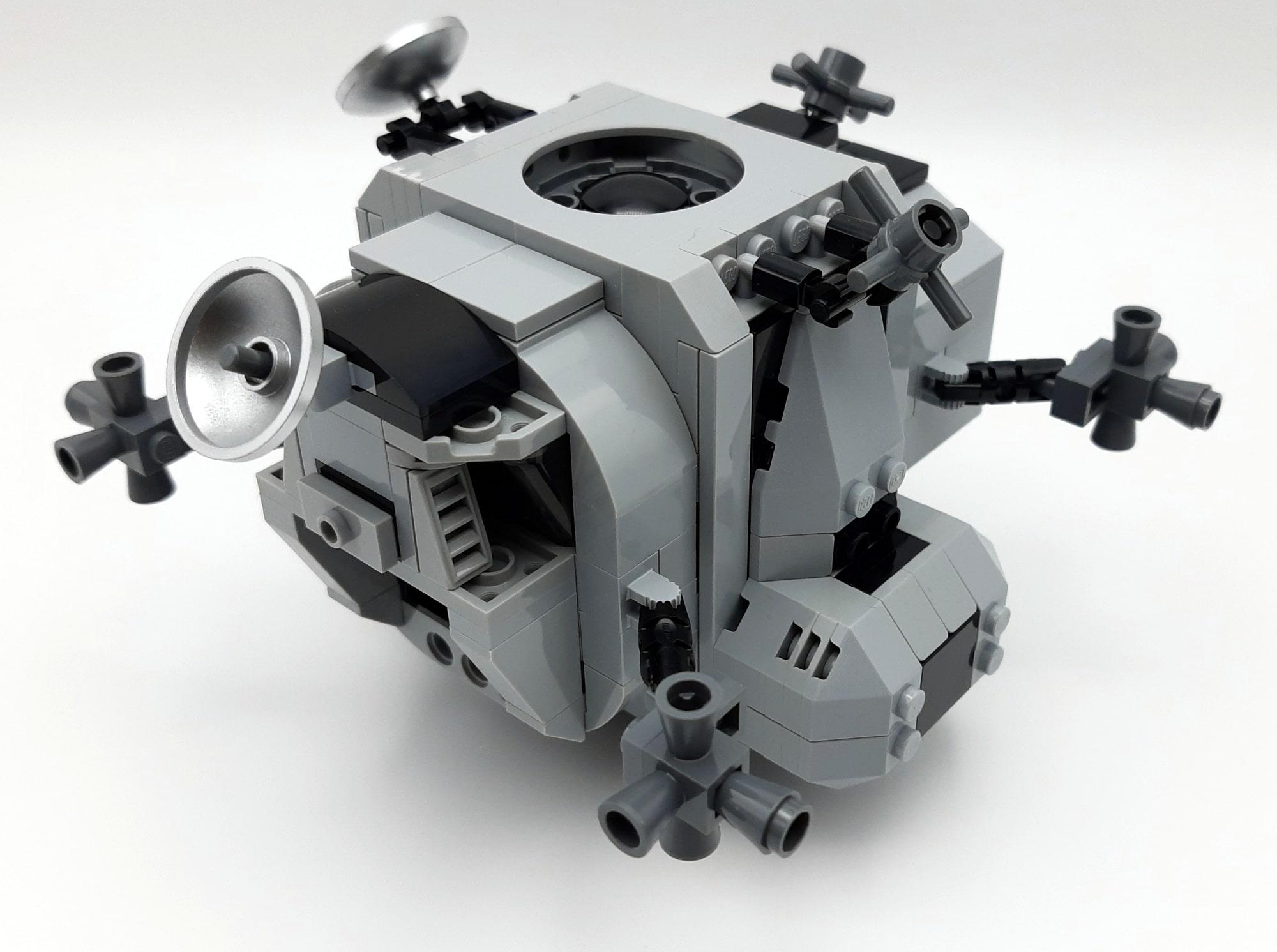 LEGO 10266 Nasa Apollo 11 Mondlandefähre - Bauabschnitt 4