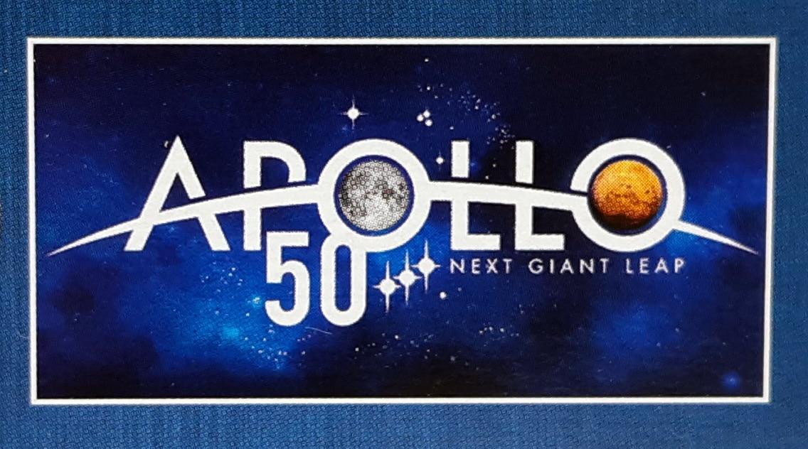 LEGO 10266 Nasa Apollo 11 Mondlandefähre - Box 50 Jahre Apollo Logo
