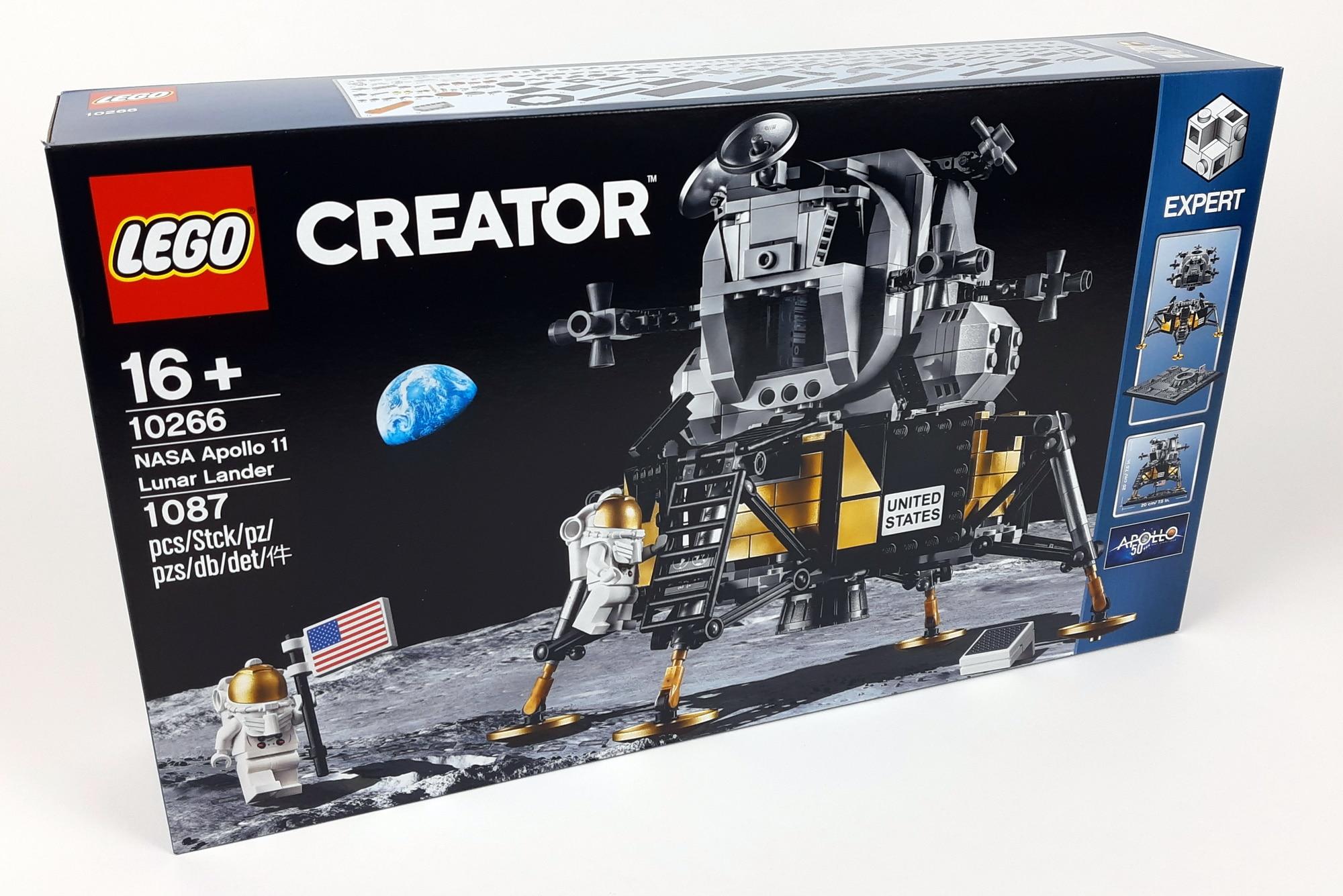 LEGO 10266 Nasa Apollo 11 Mondlandefähre - Box vorne