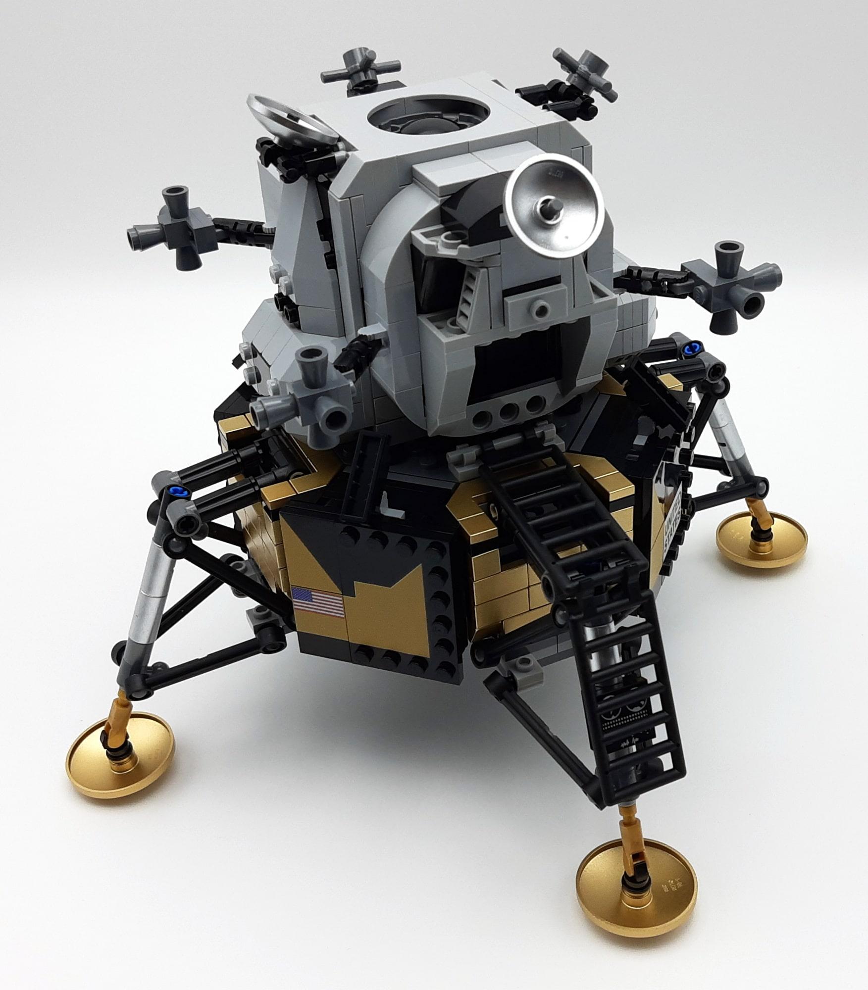 LEGO 10266 Nasa Apollo 11 Mondlandefähre - Landefähre