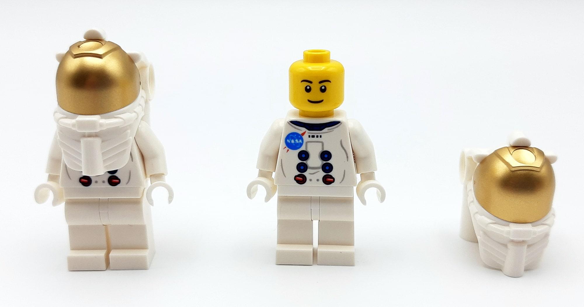 LEGO 10266 Nasa Apollo 11 Mondlandefähre - Minifiguren vorne