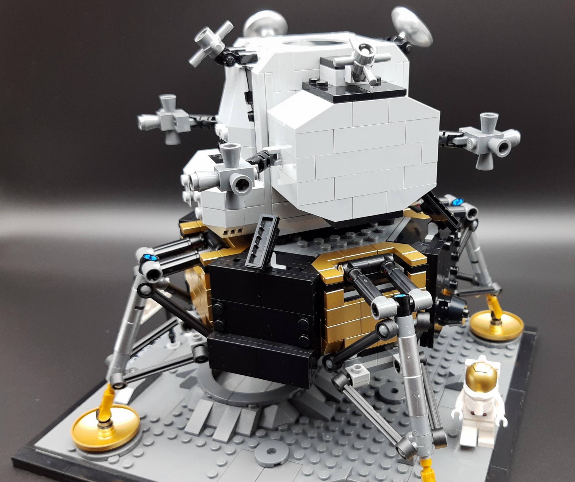 LEGO 10266 Nasa Apollo 11 Mondlandefähre - Rückseite
