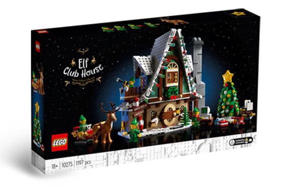 LEGO 10275 Elfen Clubhaus Box