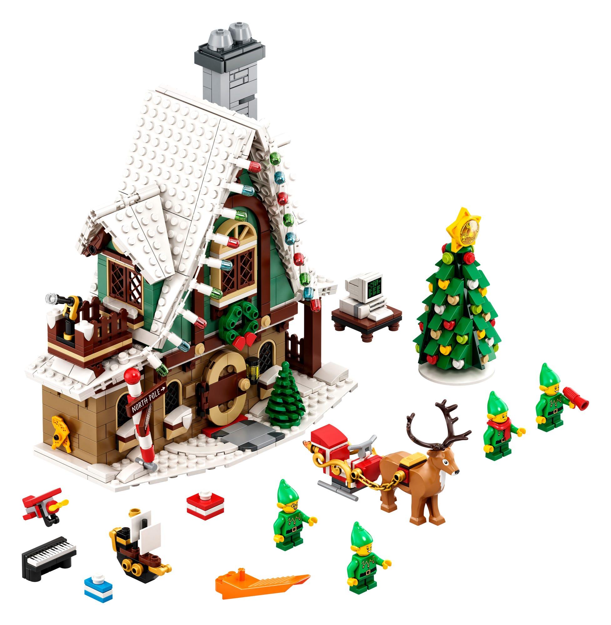 LEGO 10275 Elfen Clubhaus (1)