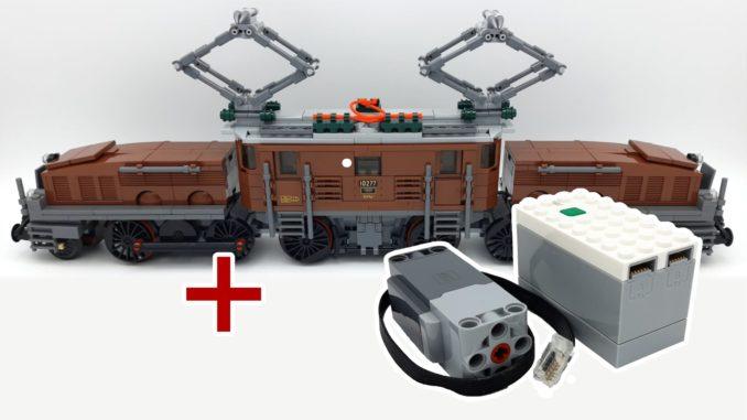 LEGO 10277 Krokodil Lokomotive - Titel