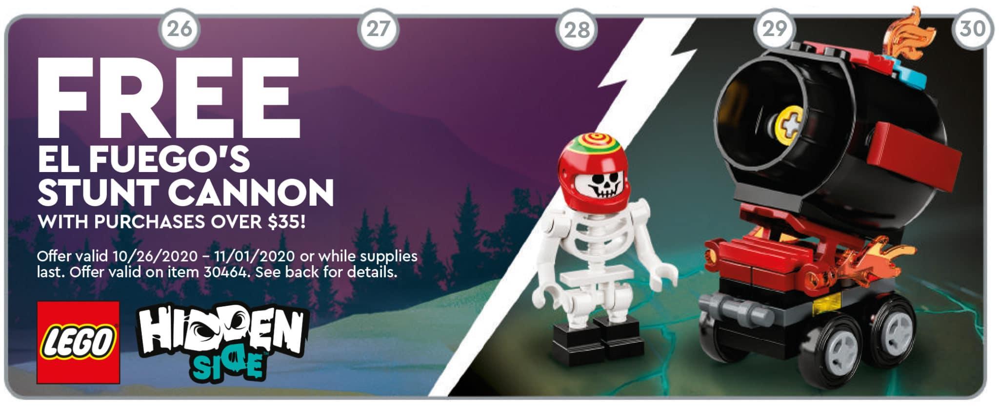 LEGO 30464 El Fuegos Stunt Cannon Gwp Kopie