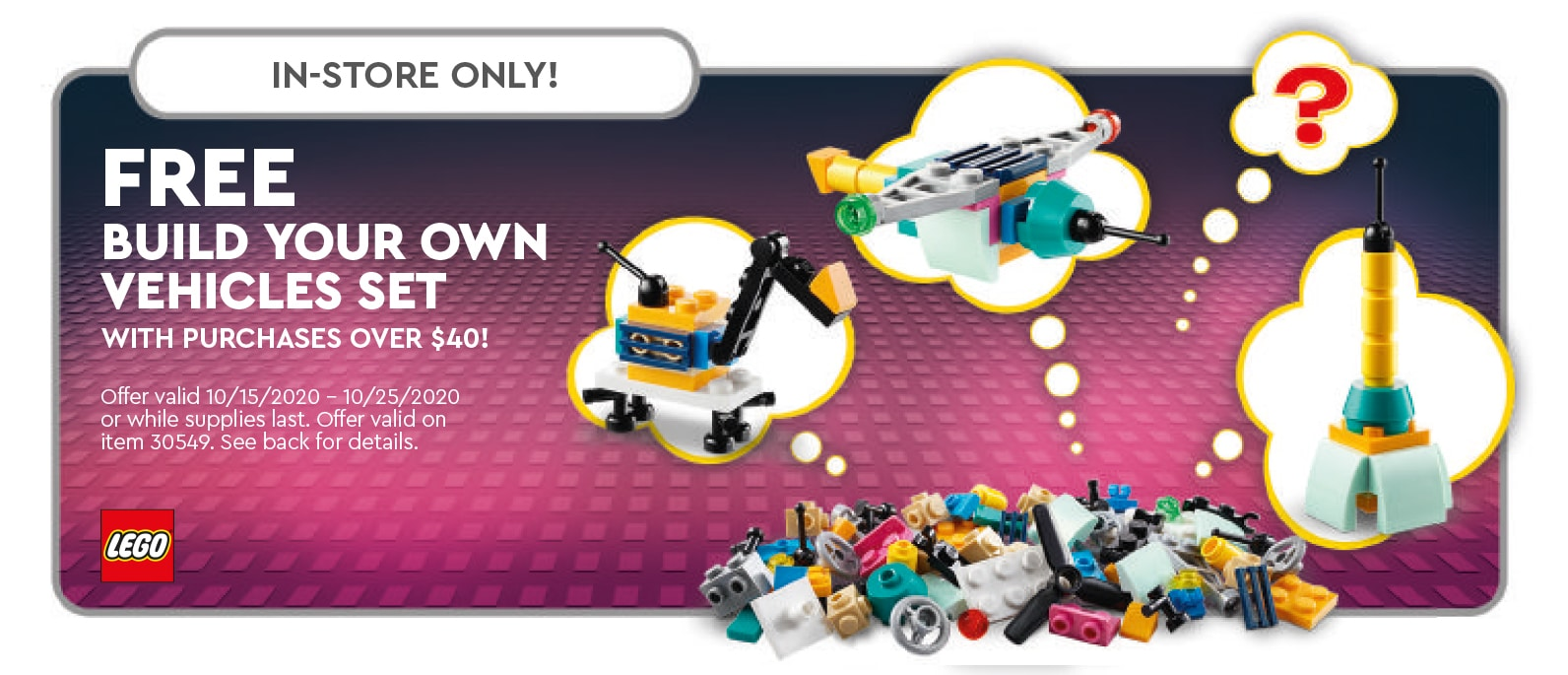 LEGO 30549 Build Your Own Vehicle