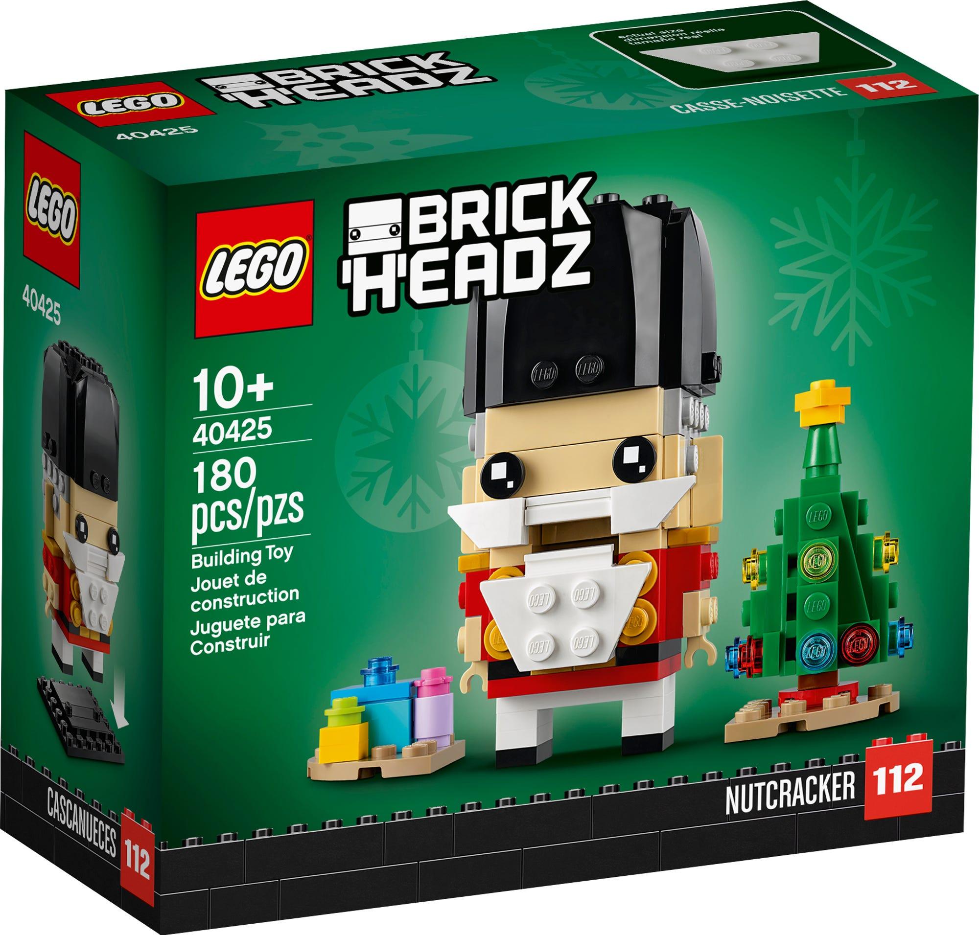 LEGO 40425 Nussknacker Brickheadz (2)