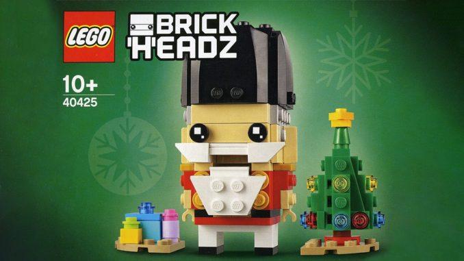 LEGO 40425 Nussknacker Brickheadz Titelbild