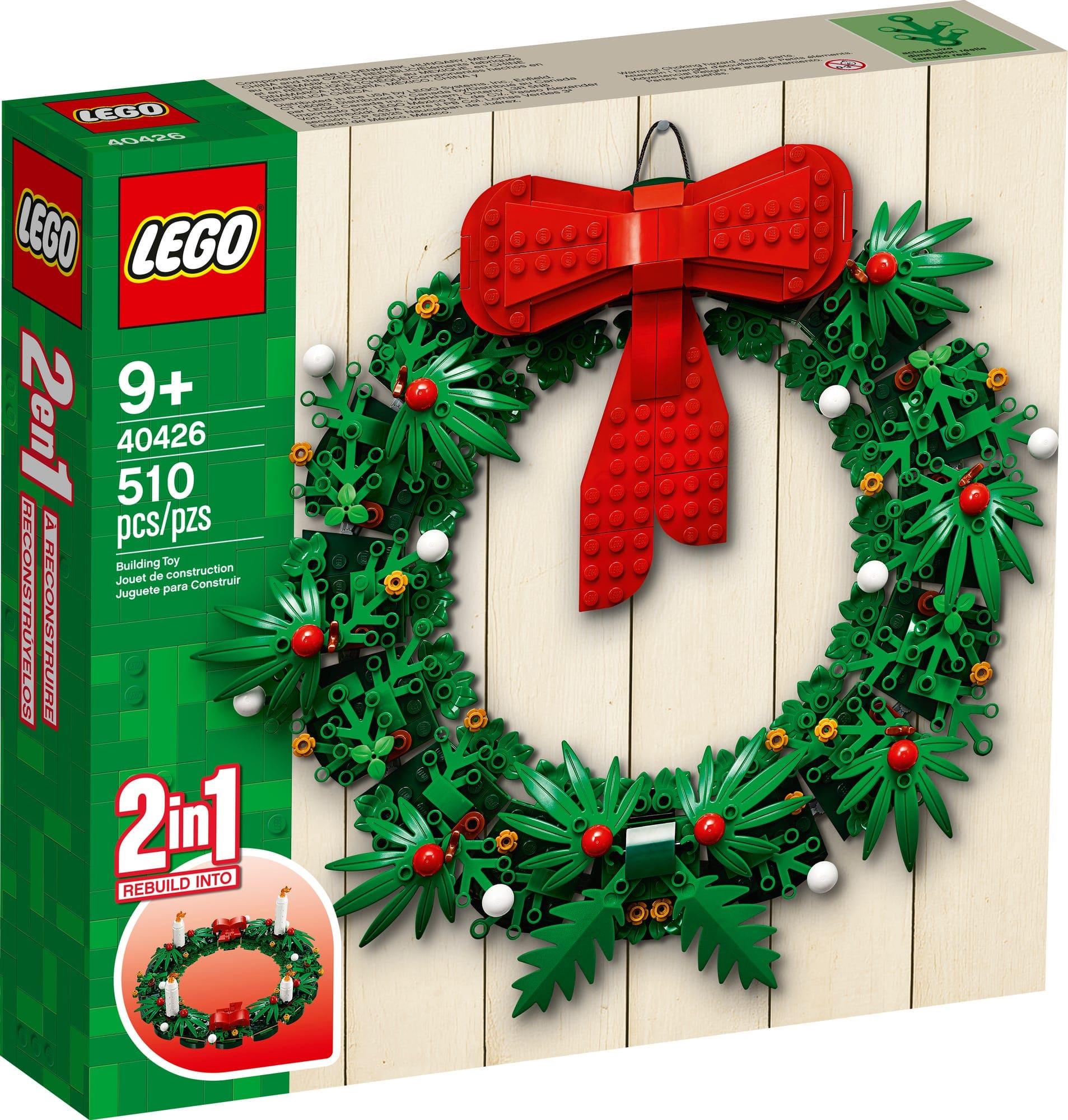LEGO 40426 Adventskranz (1)